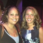 The Burton Wire's Nsenga Burton chats with CNN's Suzanne Malveaux at the NABJ/CAABJ DNC event. (The Burton Wire)