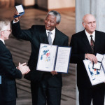 Mandela and F.W. de Klerk were recipients of the 1993 Nobel Peace Prize. (Google Images)