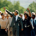Mandela was released from prison on February 11, 1990. (NelsonMandela.org)
