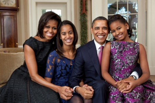 The Obama family will visit Senegal and South Africa next month. (Google Images)