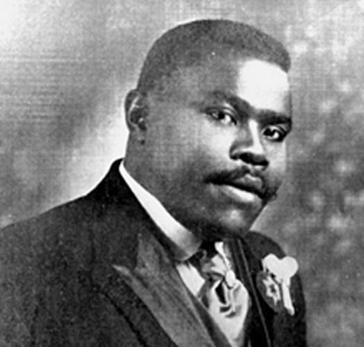 My friend and Marcus Garvey were like twins