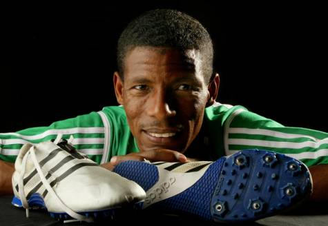 Ethiopia's legendary distance runner Haile Gebrselassie is considering a run for the presidency. (Google Images)