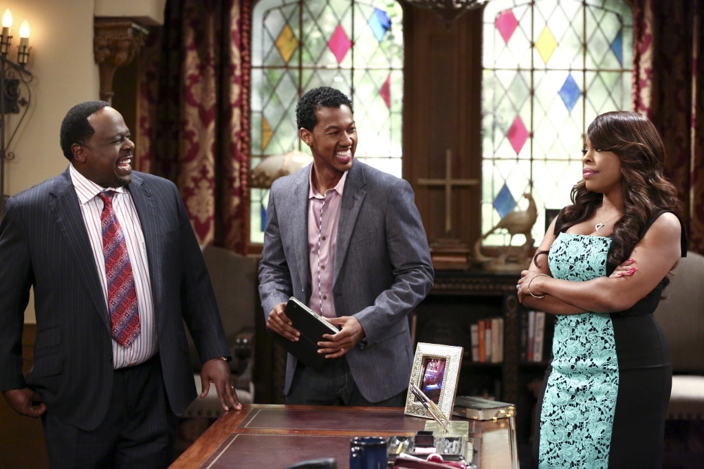 Wesley Jonathan, Cedric the Entertainer and Niecy Nash star in TV Land's 'The Soul Man'.  Photo Credit: TV Land