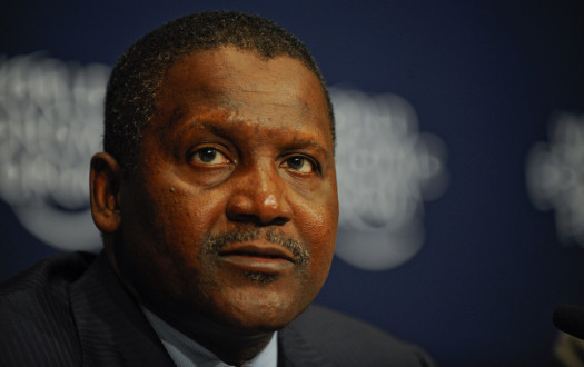 Nigerian manufacturer Aliko Dangote is the richest African worth $20.2 billion, among 20 Nigerians listed. (Photo Credit: Google Images)