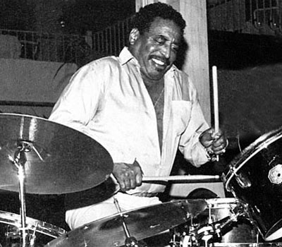Legendary jazz drummer Chico Hamilton is dead at 92.  (Photo Credit: Drummerworld.com)
