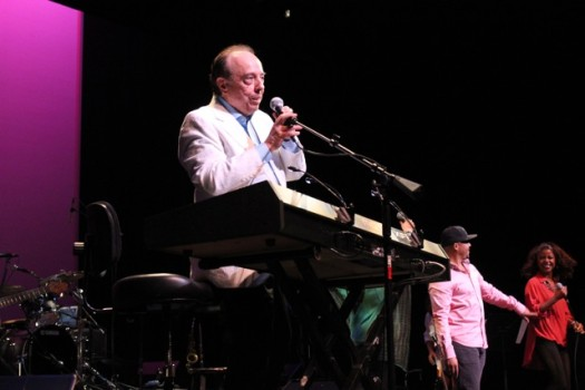 Brazilian jazz legend Sergio Mendes performs at the Cobb Energy Performing Arts Center in Atlanta.  (Photo Credit: DJ Blak Magic)