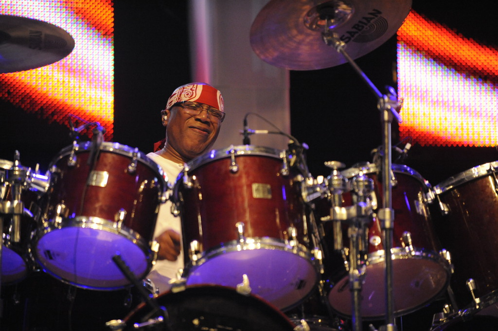 Jazz fusion bandleader Billy Cobham discusses the 40th anniversary of his seminal LP 'Spectrum'.  (Photo Credit: Whole Picture Media)