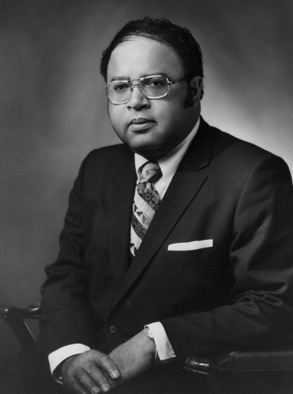 Charles Cole Diggs, Jr. is the first African American congressman from Michigan. He also helped found the Congressional Black Caucus.  (Photo Credit: Wikipedia)