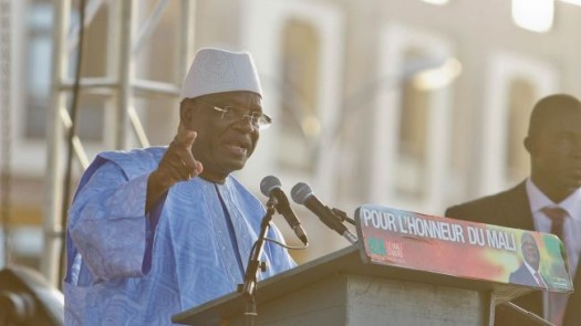 Mali's president Ibrahim Boubacar Keita's party has won the nation's parliamentary elections. (Photo Credit: Google Images)
