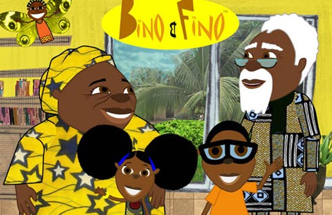 Bino and Fino is an African educational cartoon. (Photo Credit: Google Images)