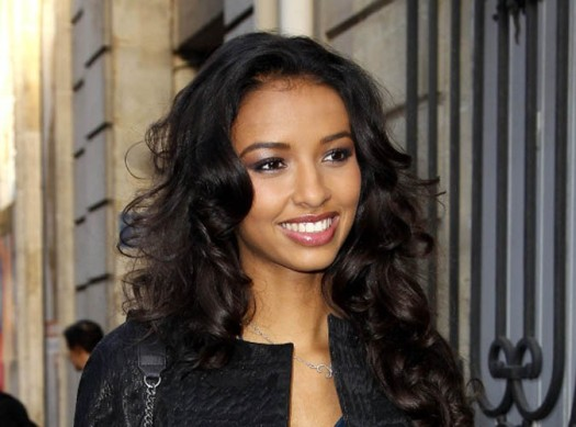 Miss France 2014 Flora Coquerel has received racist threats on social media platforms.  (Photo Credit: Google Images)