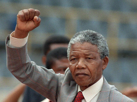 Former South African president and iconic anti-Apartheid activist Nelson Rholihlahla Mandela has died. He was 95.  (Photo Credit: Google Images)