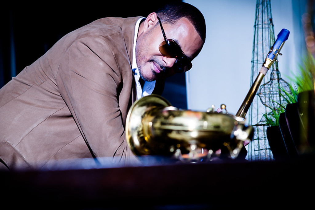 Jazz saxophonist Najee talks about his new album 'The Morning After - A Musical Love Journey.' Photo Credit (Robert Ector)