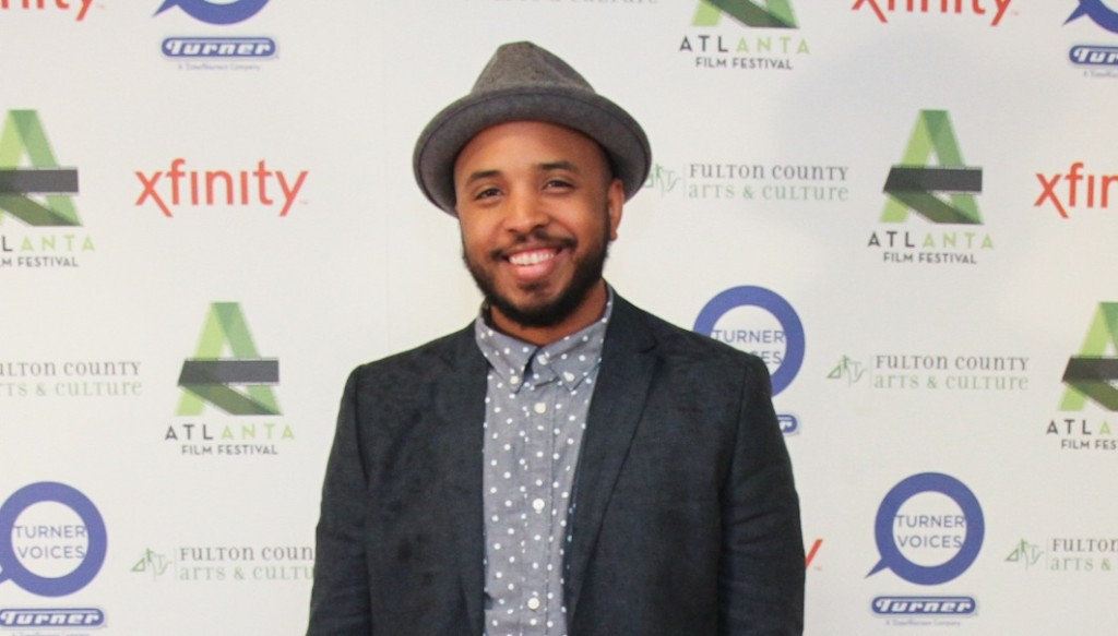 Justin Simien, director of the indie hit 'Dear White People'.  (Photo Credit: Yale Zhang)