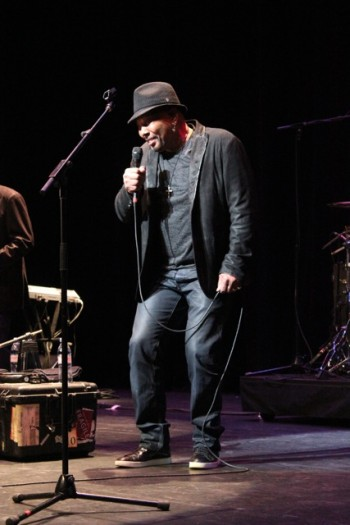 Legendary singer Aaron Neville.  (Photo Credit: DJ Blak Magic)