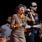 Dee Dee Bridgewater and Theo Croker perform. (Google Images)