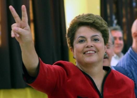 Brazilian president Dilma Rousseff has been re-elected. (Photo Credit: Google Images)