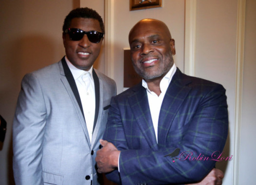 Musical visionaries  Antonio 'L.A.' Reid and Kenneth 'Babyface' Edmonds at the ASCAP Soul Legends Awards Dinner at the Mandarin in Atlanta. (Photo Credit: Robin Lori )