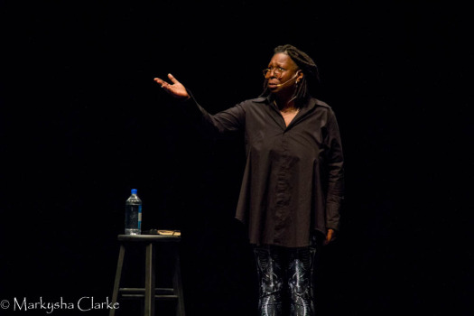 Comedienne Whoopi Goldberg performs at Cobb Energy Performing Arts Centre.
