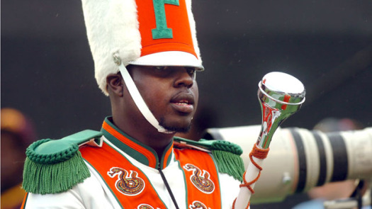 """Drum major Robert Champion, 26, died after participating in a 'hazing' ritual known as 'Crossing Bus-C"""".  (Photo Credit: Google Images)"""