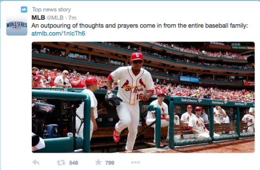 Twitter is mourning the loss of Oscar Tavares.