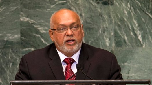 Guyana President Donald Ramontar has suspended Parliament.  (Photo Credit: Google Images)