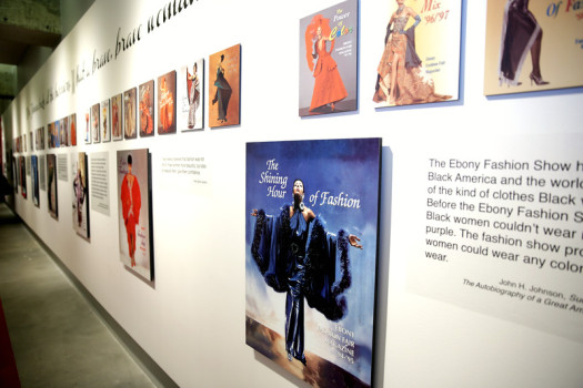 Inspiring Beauty: 50 Years of Ebony Fashion Fair, curated at the Museum of Design Atlanta (MODA). (Photo: Robin Walker Marshall)