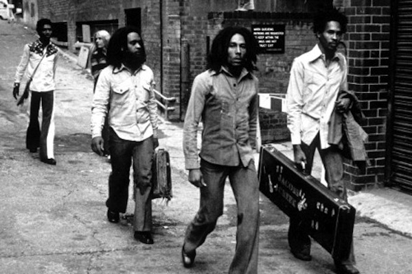 The Wailing Wailers in London to record 'Catch a Fire.' (Google Images