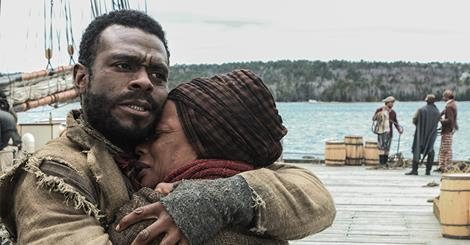 Aunjanue Ellis and Lyriq Bent star in BET's miniseries 'The Book of Negroes'.  (Photo: Google Images)