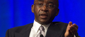 Businessman Strive Masiyiwa speaks at the 2013 Milken Institute Global Conference in Los Angeles.  (Photo: Milken Institute)