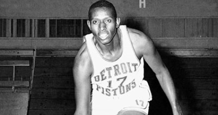 Earl Lloyd was the first Black American to play basketball in the NBA. (Photo: Google Images)