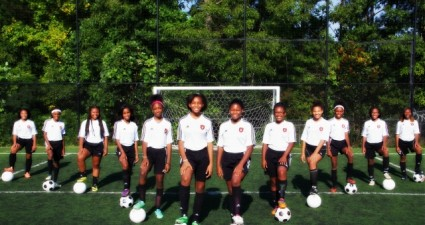 2015 Southside Heat girls soccer team