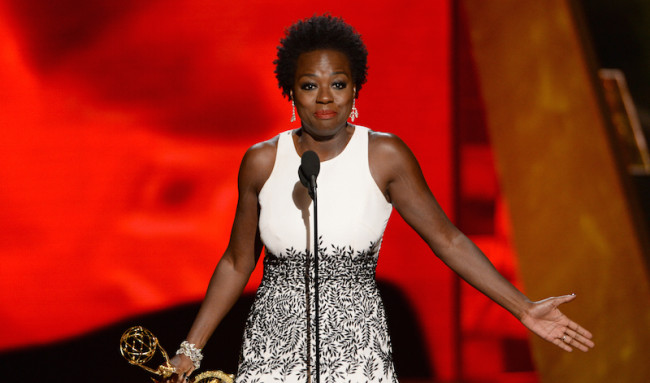 Viola Davis made history as the first African-American woman to win for Outstanding Lead Actress in a Dramatic Series. (Photo: Google Images)