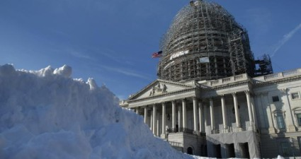 Winter storm Jonas has dumped up to 40 inches of snow onto East Coast cities. (Photo: Google Images)