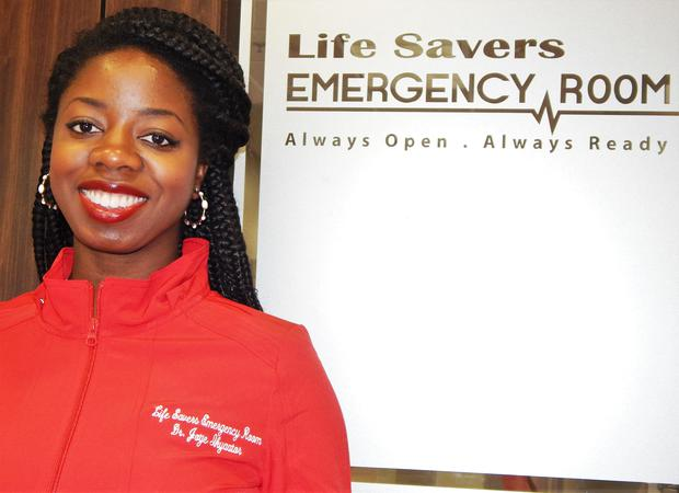Founder of Life Savers Emergency Room Dr. Foyekemi Ikyaator. (Photo: Google)