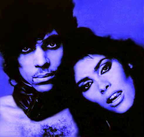 Prince and Vanity in 1983 (Photo: Google Images)
