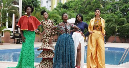 The cast of the Ghanaian web series 'An African City.' (Photo: Millie Monyo/Google Images)