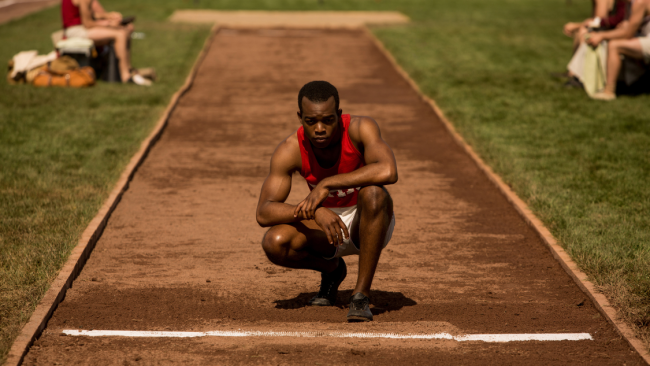 Canadian actor Stephan James stars as Olympic gold medalist Jesse Owens in 'RACE' (Photo Credit: Focus Features).