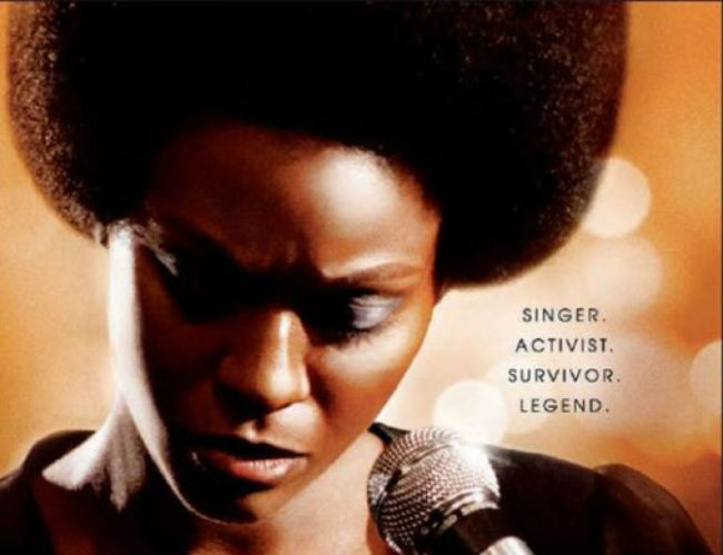 Zoe Saldana stars in 'Nina' for RLJ Entertainment. (Cropped movie poster)