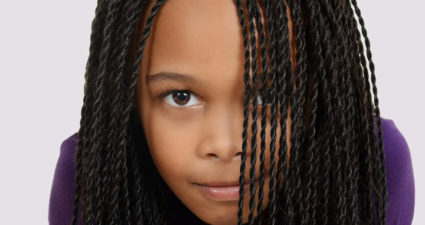 Girl with braids. (Photo: Momjunction.com)