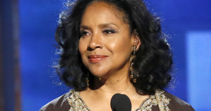 "Phylicia Rashad introduces the ""In Memoriam"" segment during the 2014 BET Awards in Los Angeles, California June 29, 2014.  REUTERS/Mario Anzuoni  (UNITED STATES-Tags: ENTERTAINMENT)(BETAWARDS-SHOW) - RTR3WD6K"