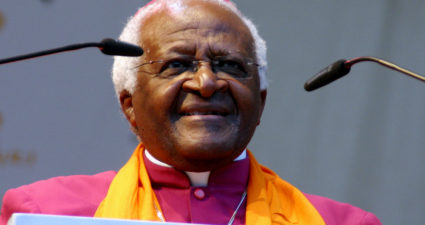 Cape Town's first black archbishop Desmond Tutu has been hospitalized for an infection following surgery. (Photo: Google Images)