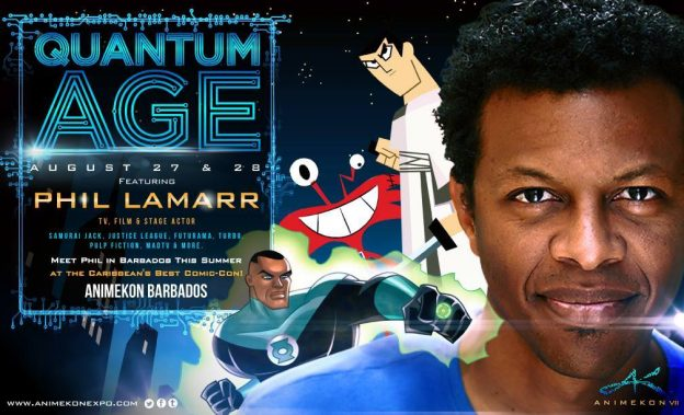 Advertisement featuring Phil LaMarr for AnimeKon 2016. (Photo: Google Images)